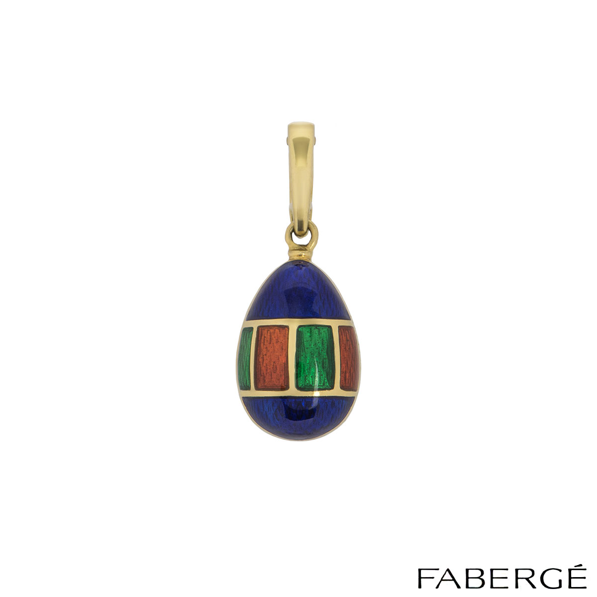 Faberge Yellow Gold Victor Mayer Egg Charm
